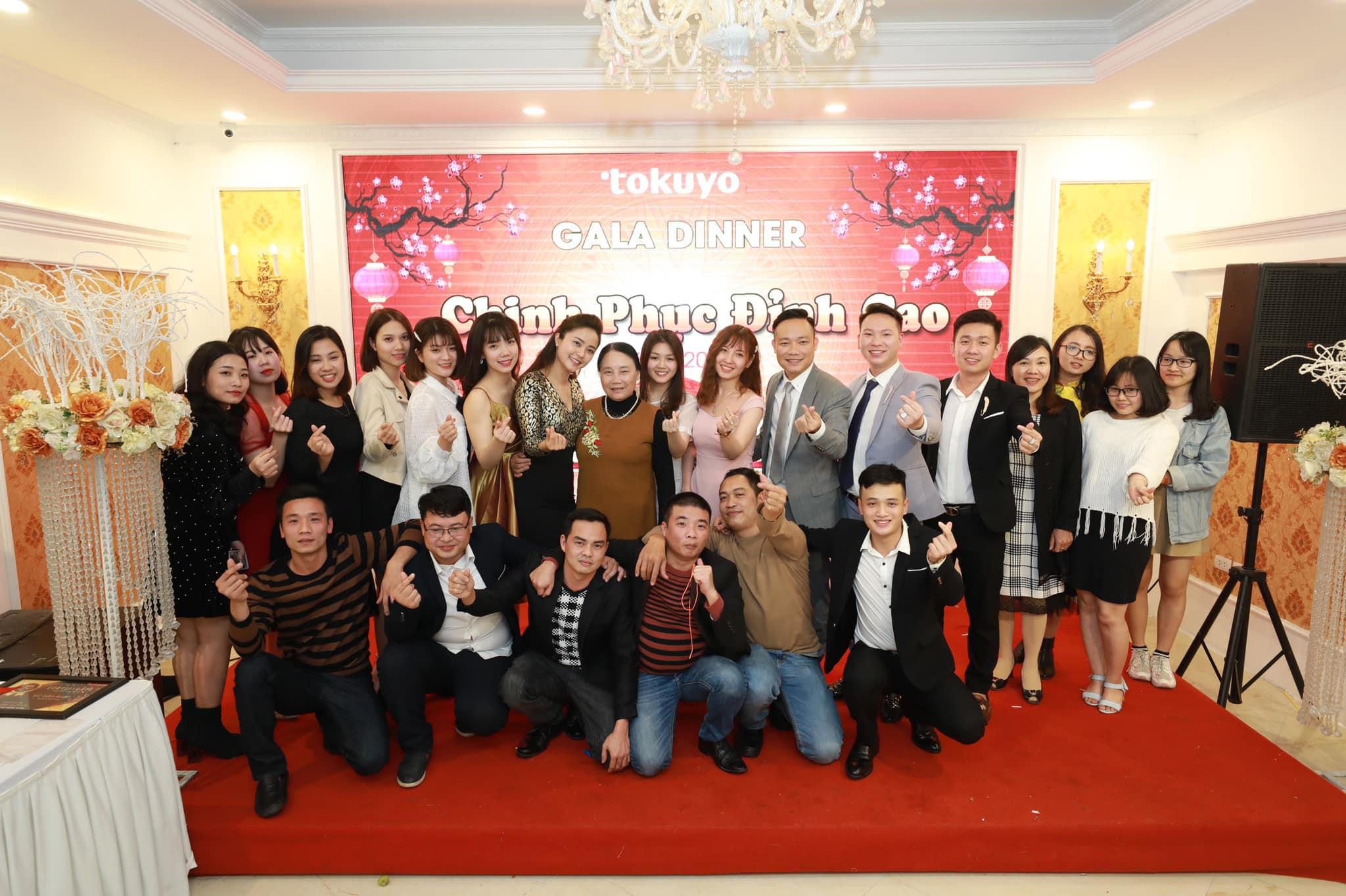 Rộn ràng tiệc tất niên Công ty TNHH Thương Mại Tokuyo