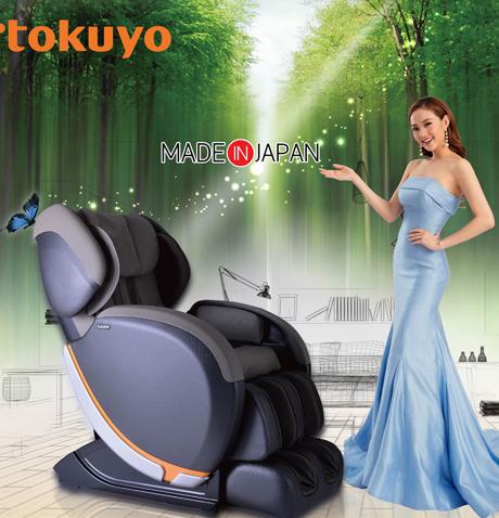 Ghế Massage Toàn Thân Tokuyo SC-555 (Nhập Khẩu Nguyên Chiếc)