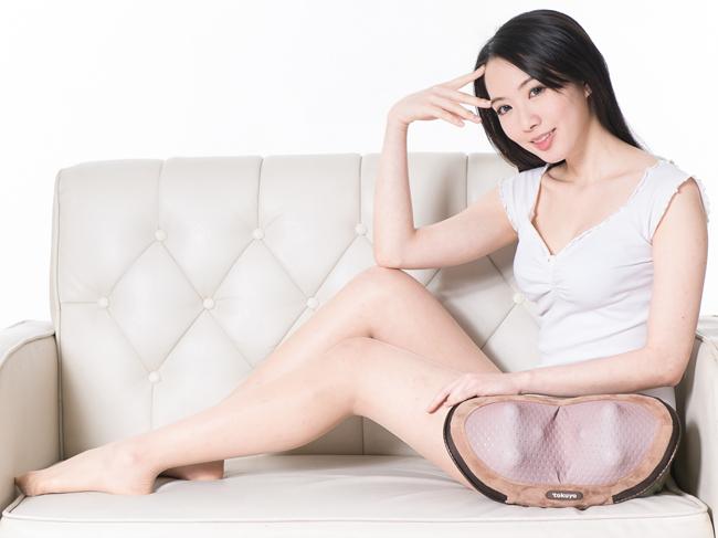 Máy massage Cao Cấp Vai - Gáy - Lưng 3D TH-507 (Nhiệt Nóng)