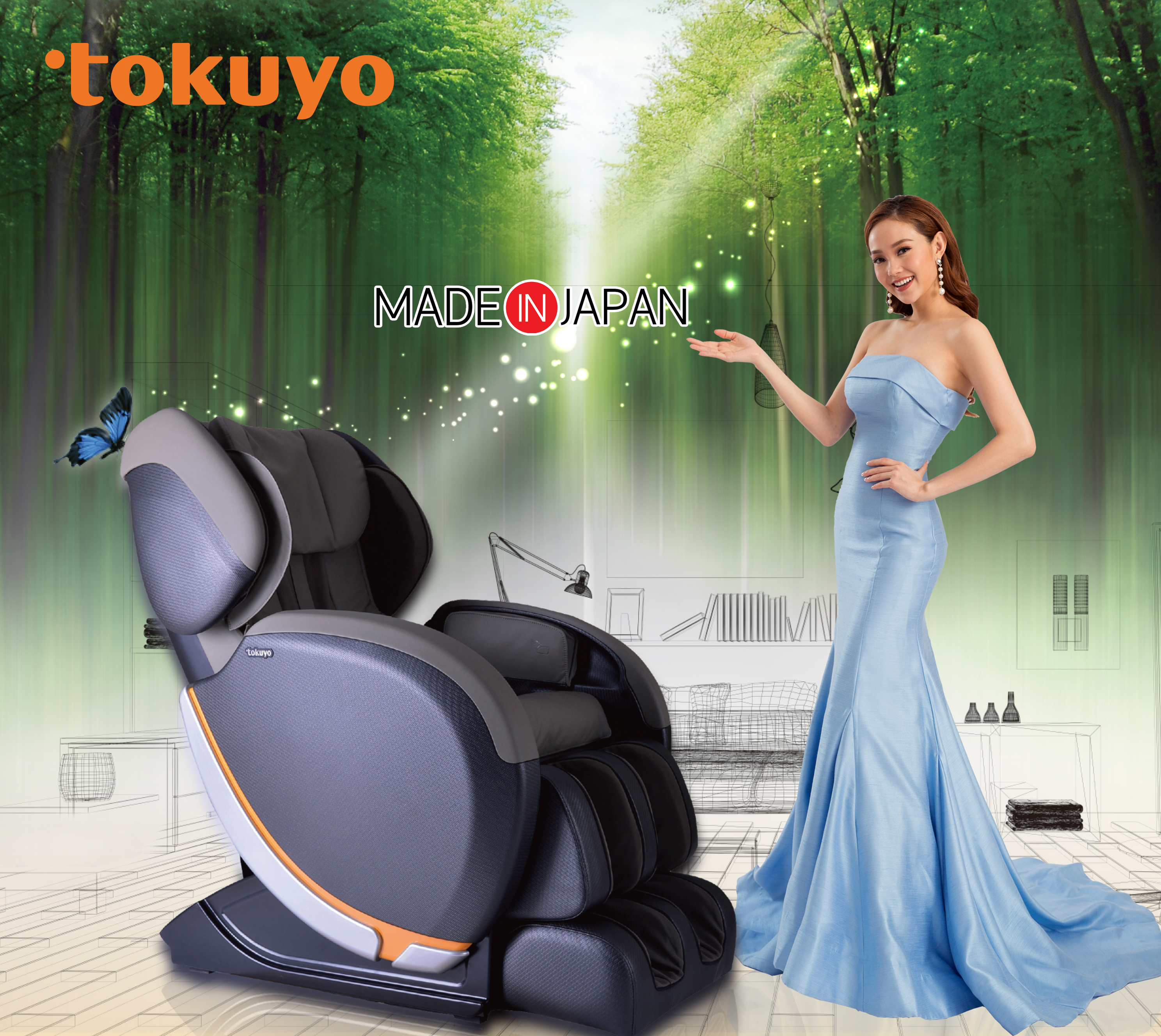 ghế massage tokuyo jc-3680