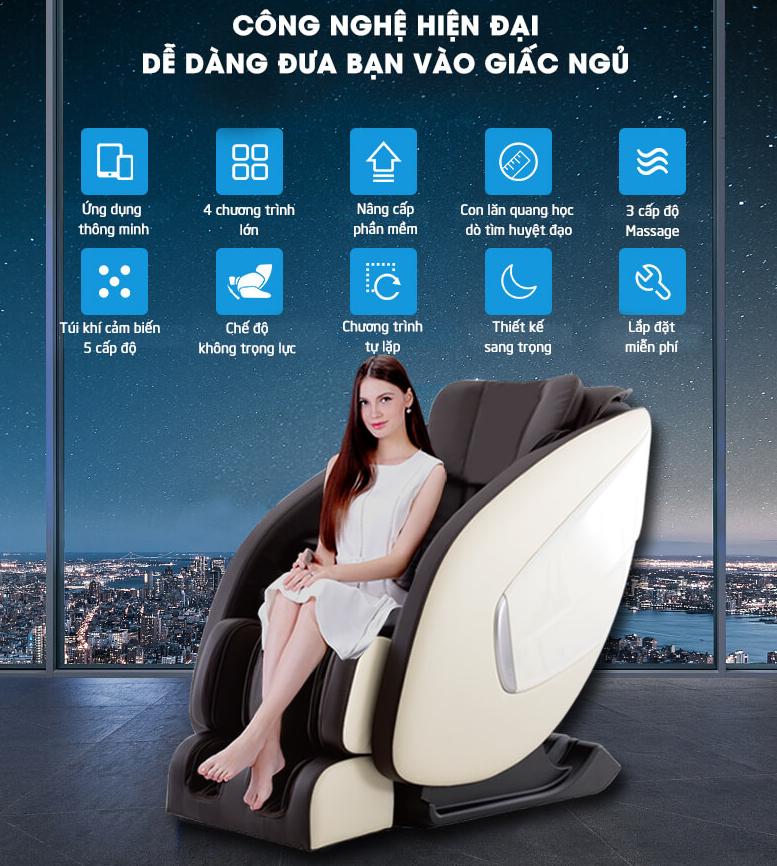 Địa chỉ bán ghế massage toàn thân uy tín tại Đà Nẵng