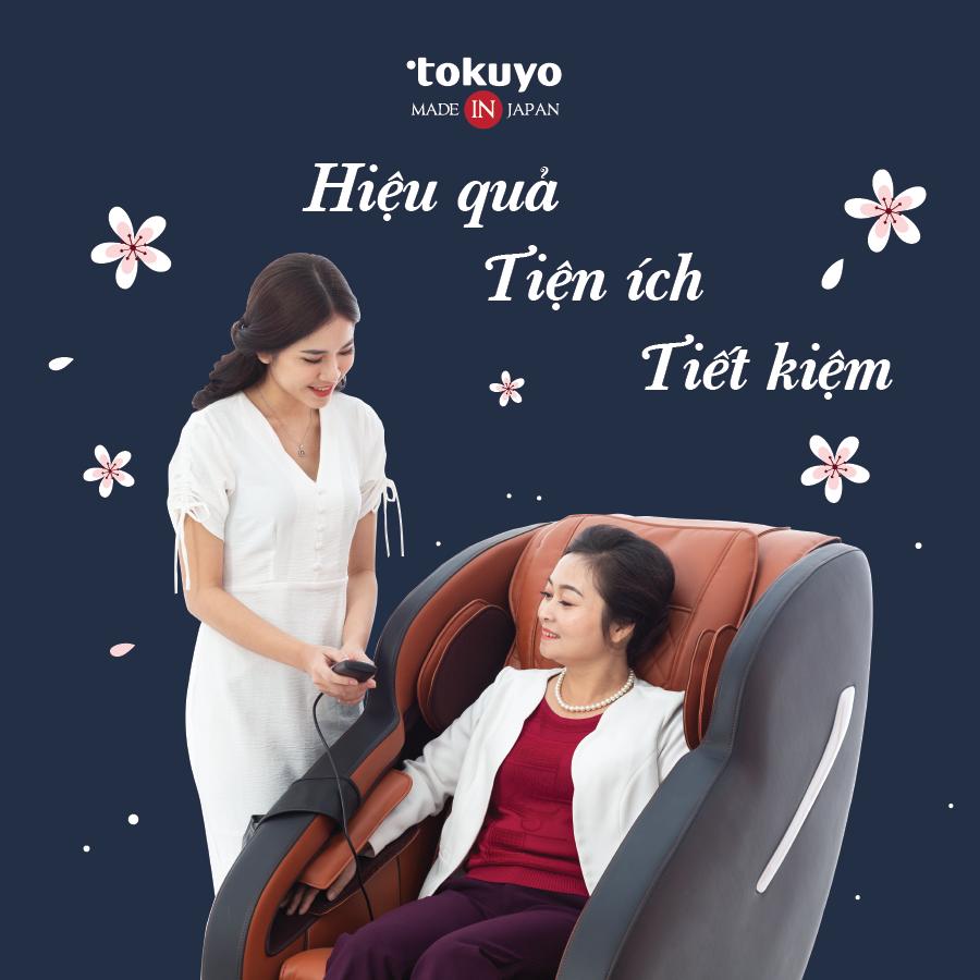 Ghế Massage Nhật Tokuyo KC-395 (Sức Khỏe Quy Hồi)