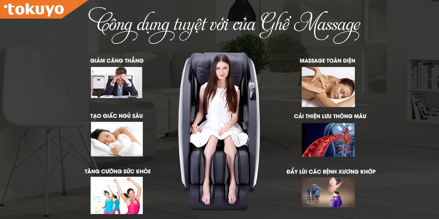 Ghế Massage Hỗ trợ chữa trị