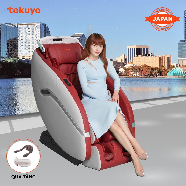 Ghế Massage Toàn Thân Tokuyo JC-3730 (Made In Japan)