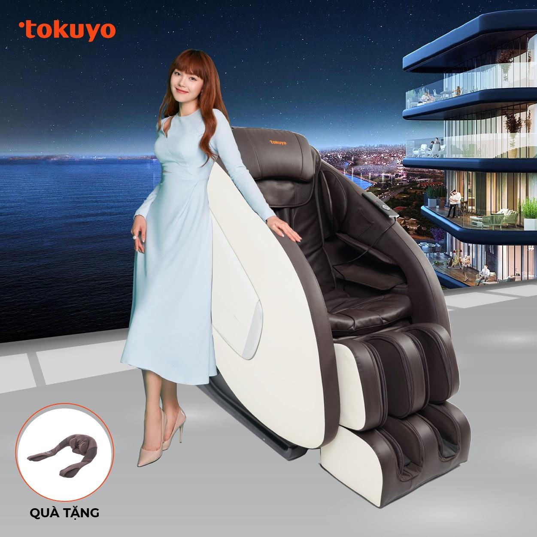 Ghế Massage Toàn Thân Tokuyo TC-672 (Nhập Khẩu Nguyên Chiếc)