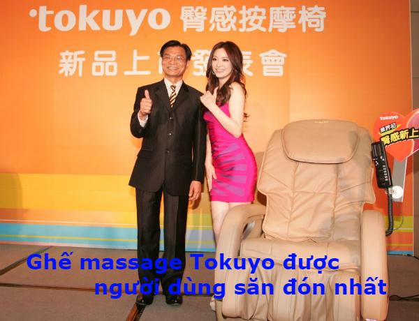 """Ghế massage Tokuyo chính hãng được người tiêu dùng """"săn đón nhất"""""""