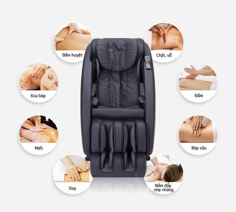Được massage thường xuyên làm tăng cường hệ thống miễn dịch