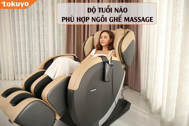 Bạn đã biết độ tuổi nào phù hợp ngồi ghế Massage?