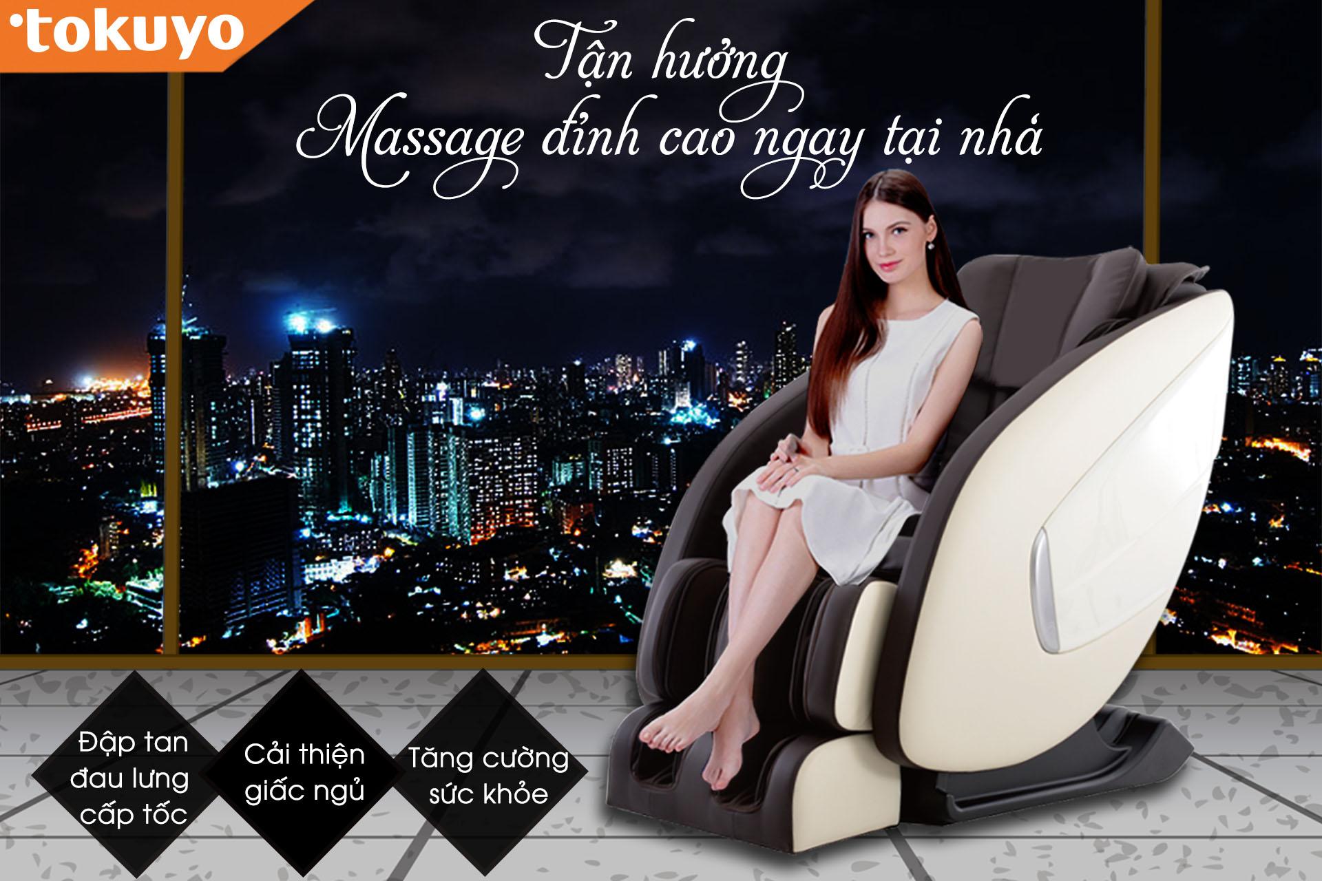 Tư vấn 3 vị trí đặt ghế massage toàn thân tại nhà