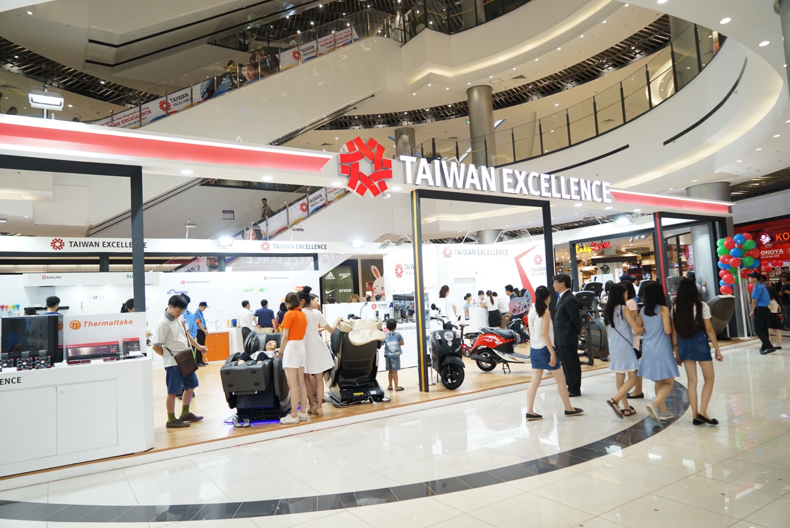 Taiwan Excellence tại AE Mall Long Biên