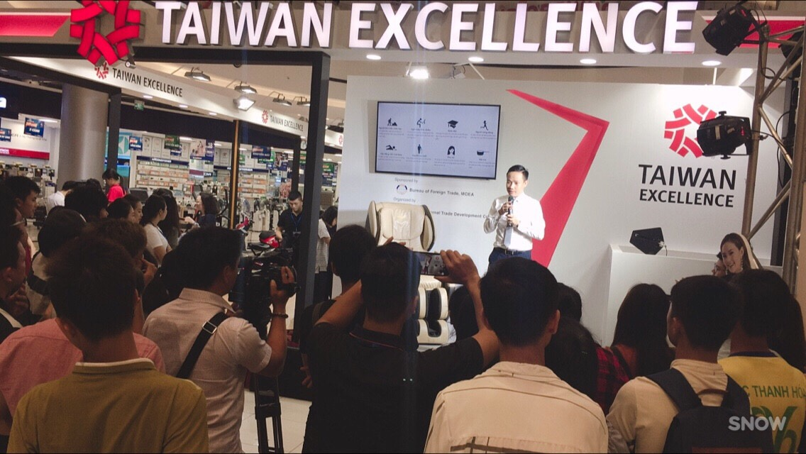 Taiwan Excellence tại AE Mall Long Biên 1