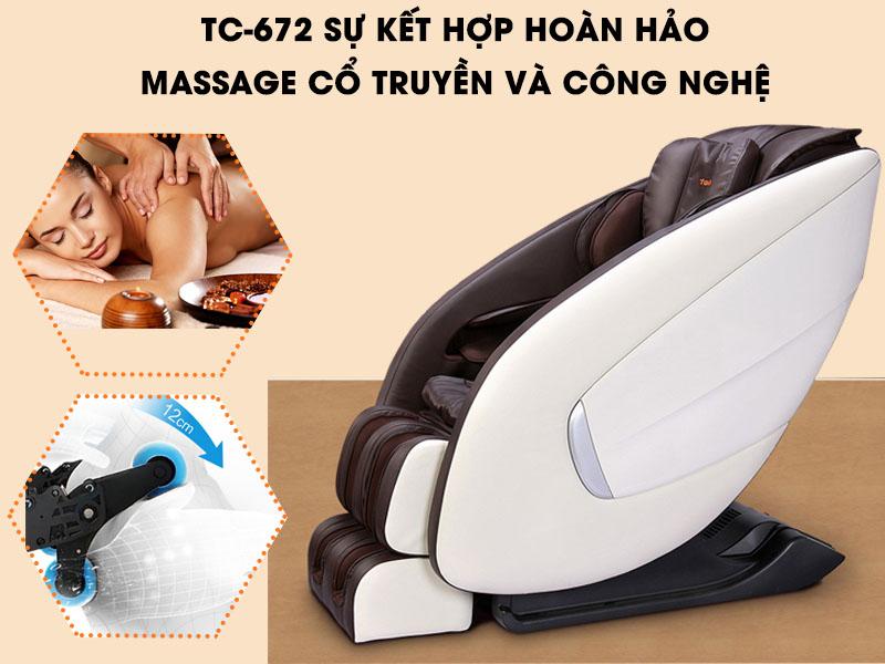 5 ưu điểm vượt trội của Ghế Massage Toàn Thân Tokuyo TC-672