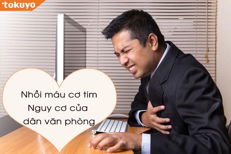 5 tip nhất định phải biết để phòng tránh bệnh tim mạch cho dân văn phòng