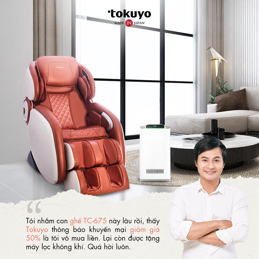 Chia sẻ của khách hàng sau khi sử dụng ghế massage Tokuyo