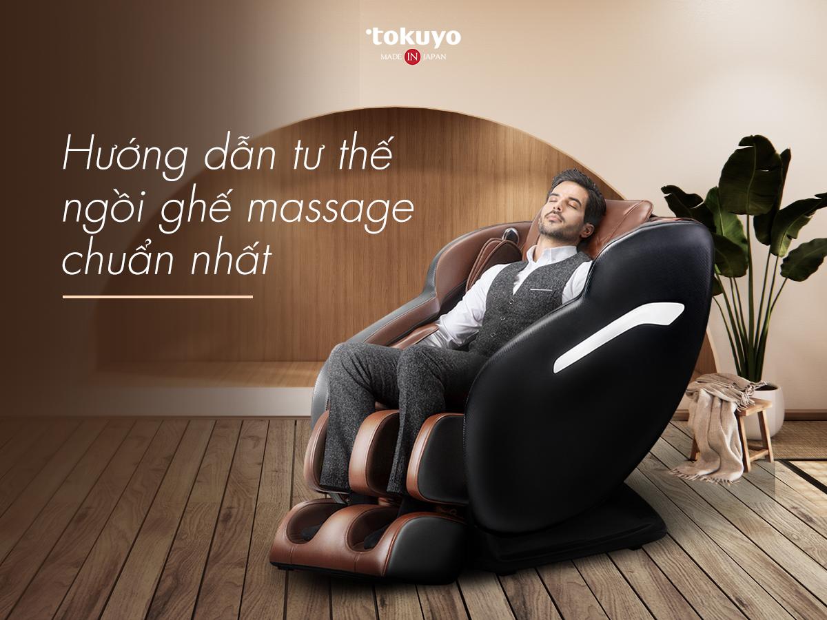 Tư thế ngồi ghế massage toàn thân chuẩn nhất