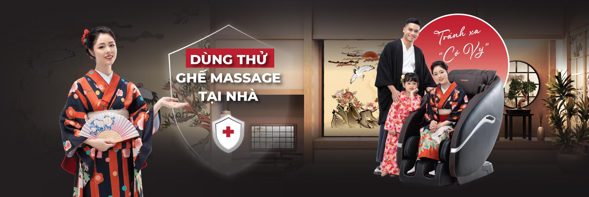 Ghế Massage Tokuyo
