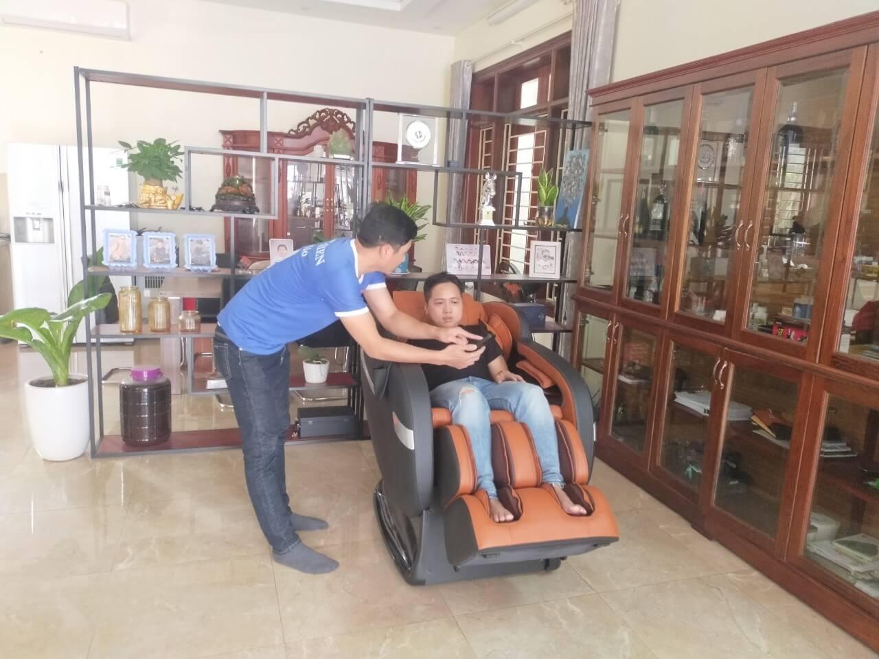 Sử dụng đúng cách giúp tăng độ bền của ghế massage
