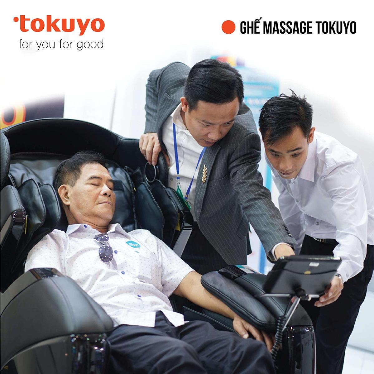 Tokuyo là thương hiệu ghế massage Nhật Bản hàng đầu Việt Nam