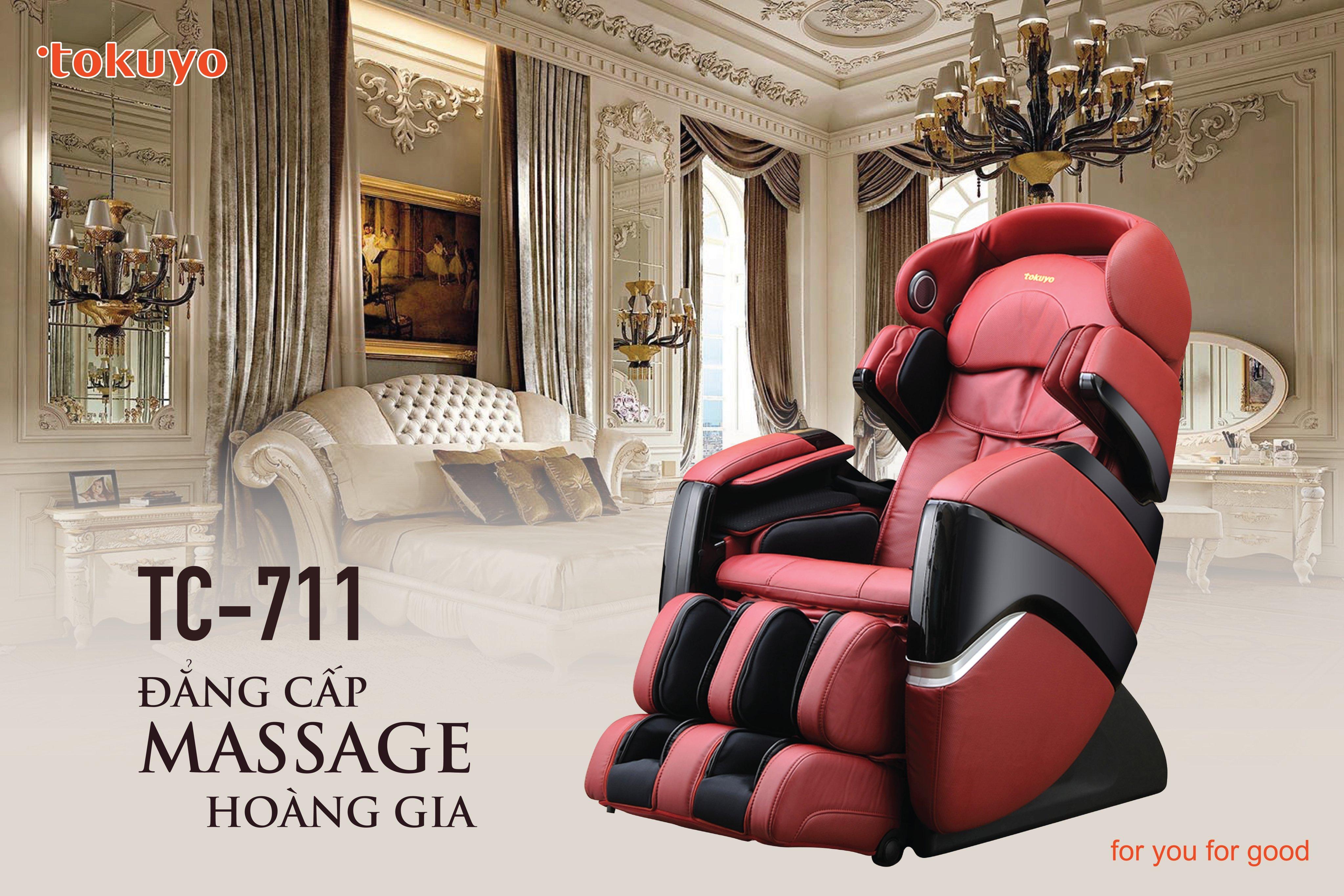 Review Ghế Massage toàn thân cao cấp Tokuyo TC-711