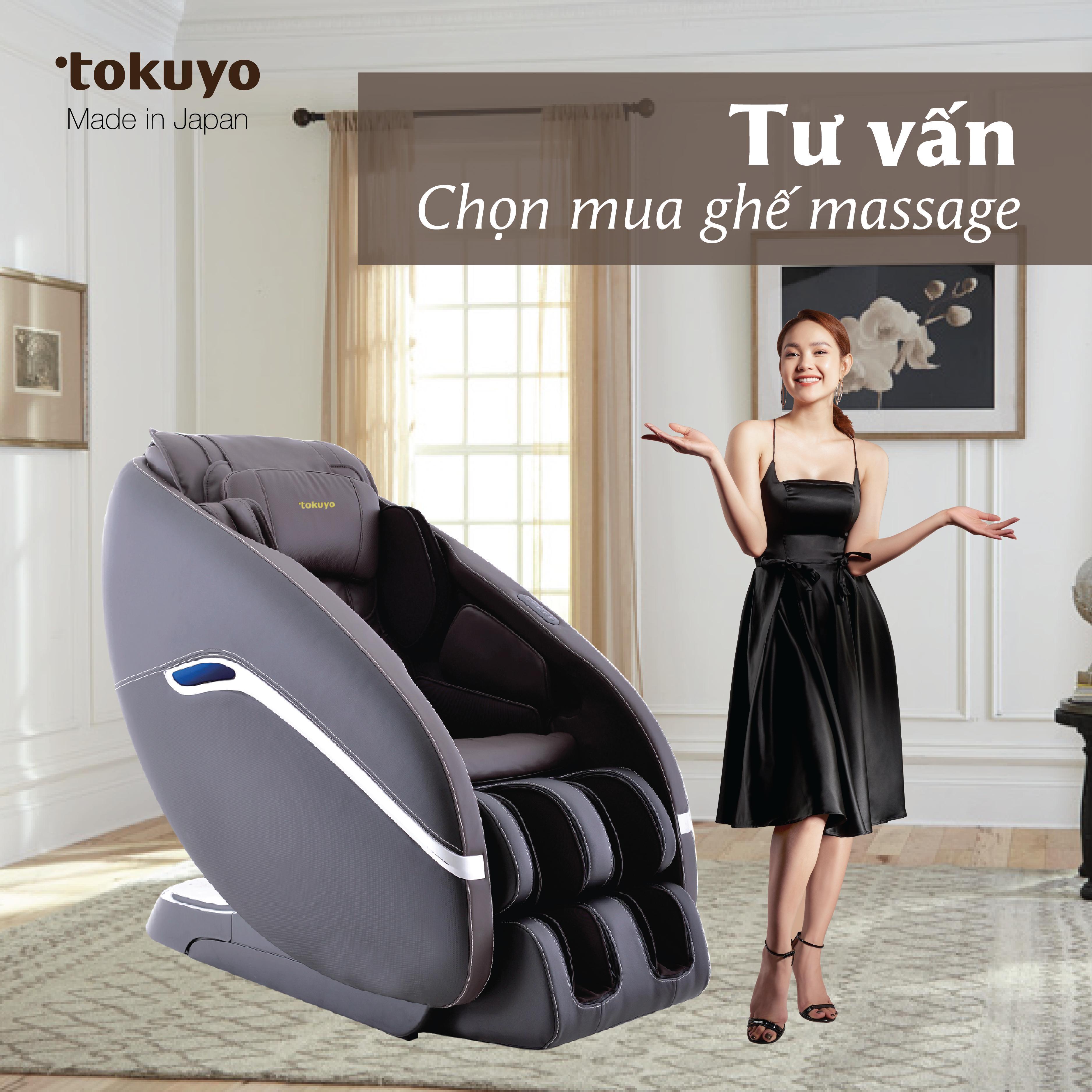 tư vấn miễn phí thử ghế massage tại nhà
