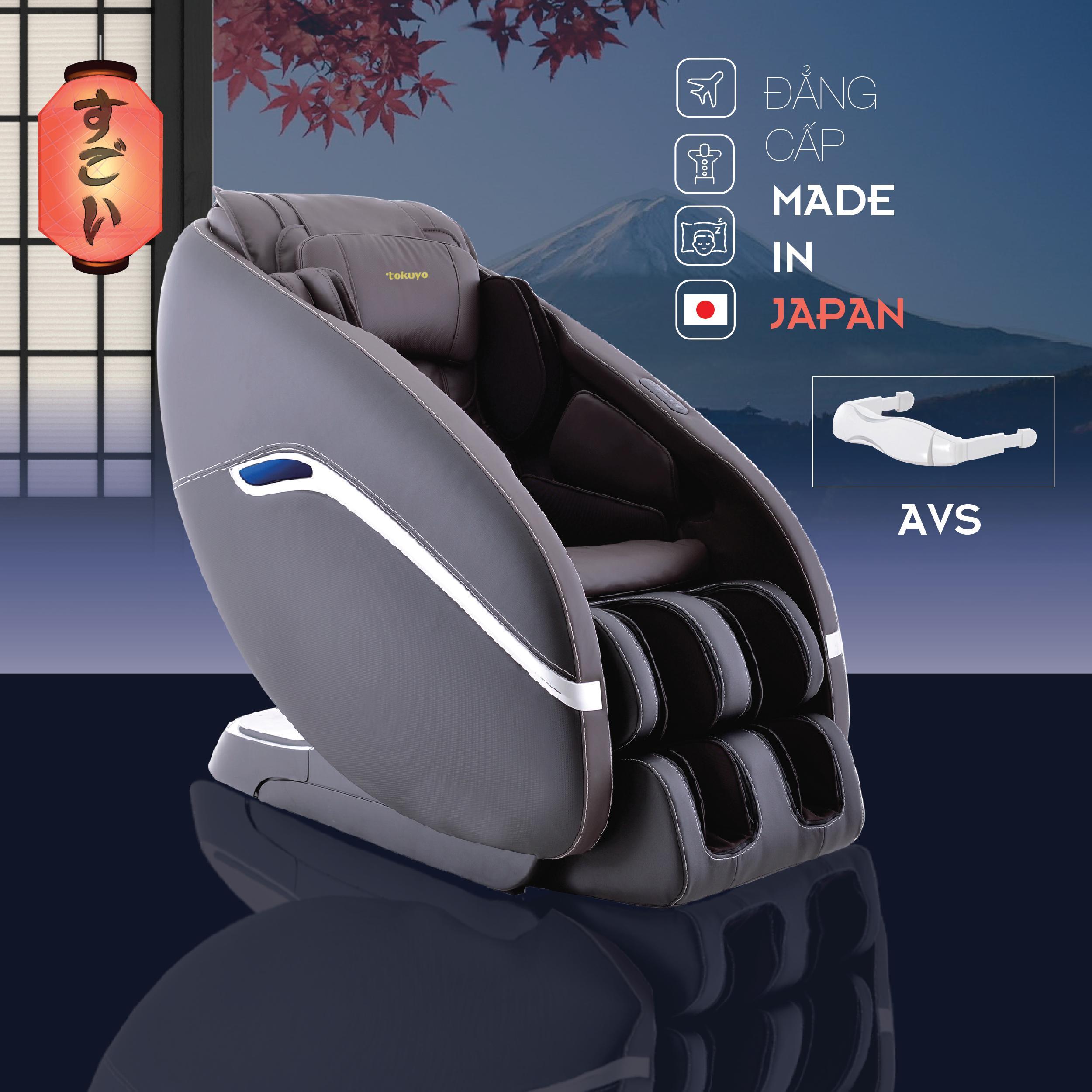 Vượt trội đẳng cấp sống Nhật Bản với ghế massage JC-3730