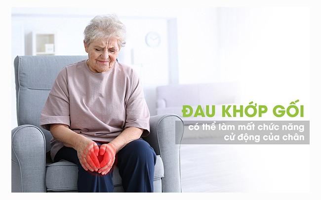 Đau nhức xương khớp phổ biến ở người già
