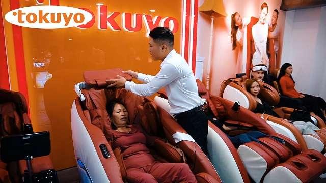 Ghế massage Tokuyo tưng bừng khai trương cơ sở Vincom Thủ Đức