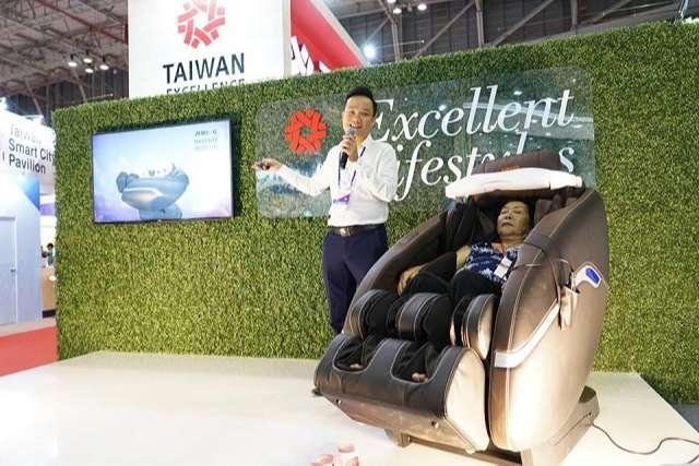 Sau thành công Taiwan Excellence, Ghế massage Tokuyo tiếp tục tham dự triển lãm Taiwan Expo 2019