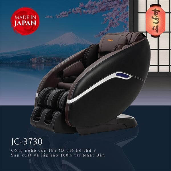 Ghế Massage Nhật Bản JC-3730 (Made In Japan)