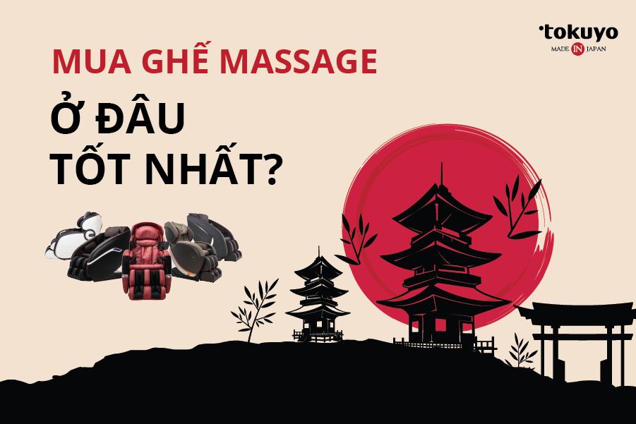 Mua ghế nằm massage chính hãng Nhật Bản ở đâu giá rẻ, uy tín?