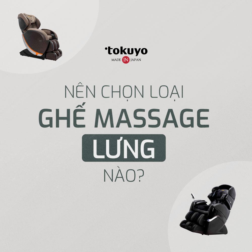 Top 3 ghế massage lưng nhập từ Nhật giá tốt nhất thị trường 2021