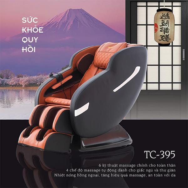 Ghế Massage Nhật Tokuyo TC-395