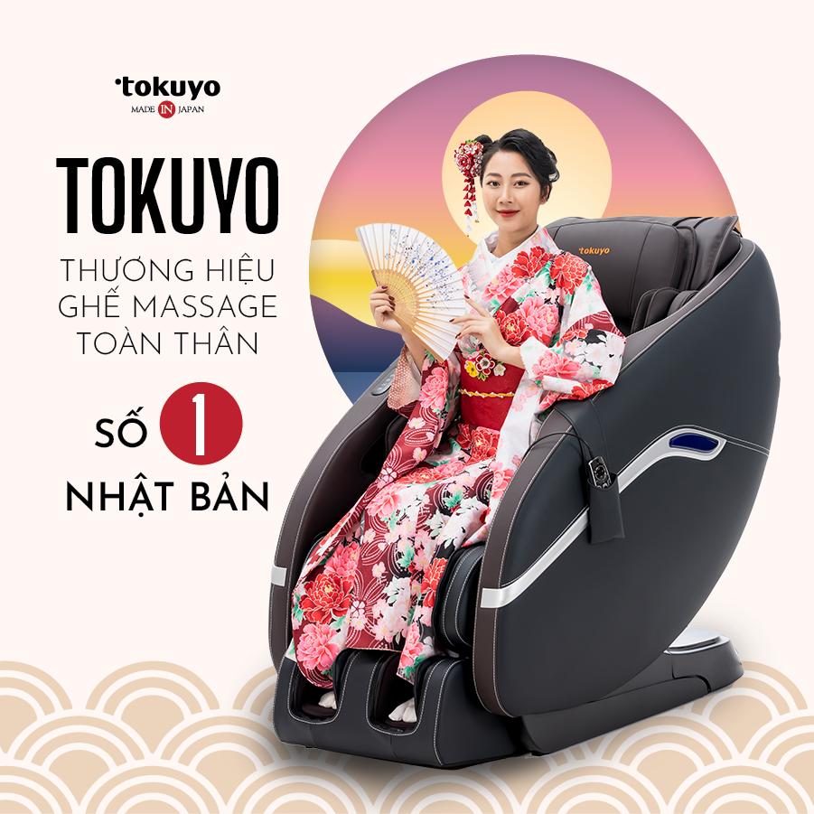 Tokuyo - Thương hiệu ghế massage sản xuất 100% tại Nhật Bản