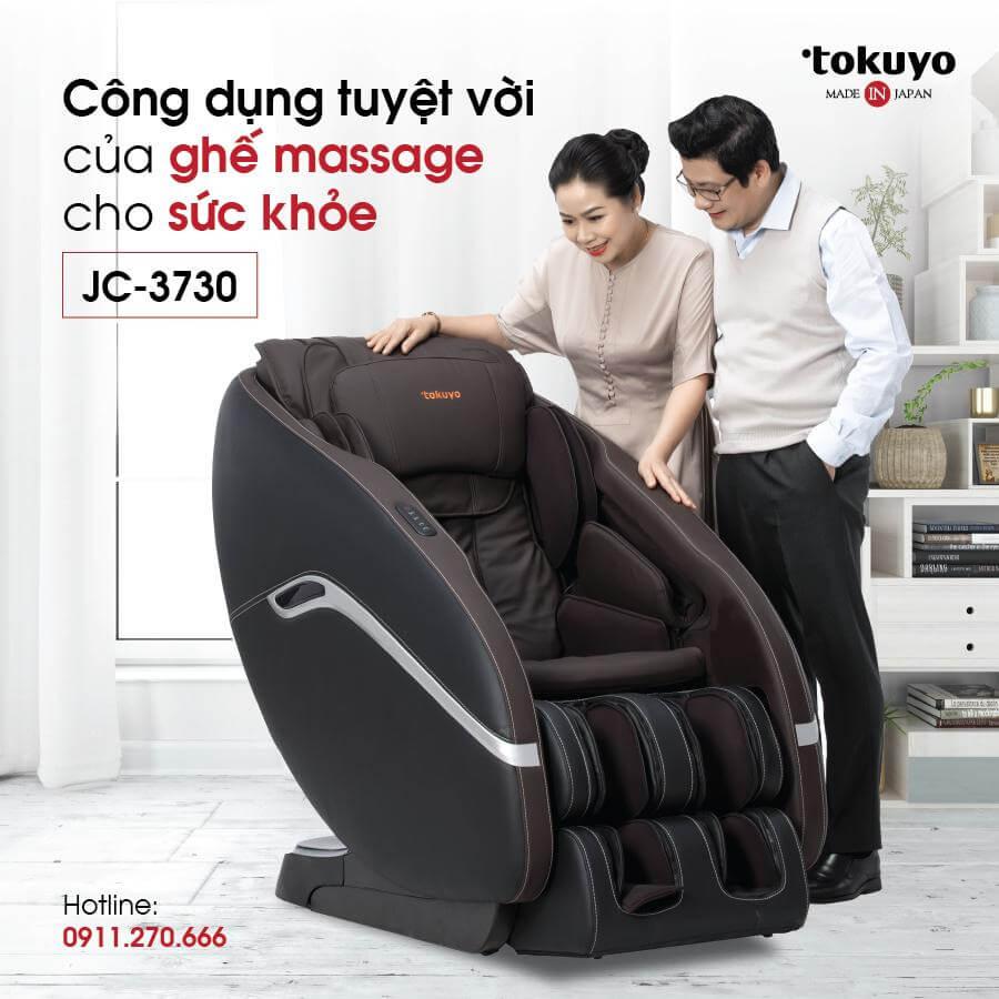 Vì sao bạn nên mua ghế massage Tokuyo thương hiệu cao cấp Nhật Bản