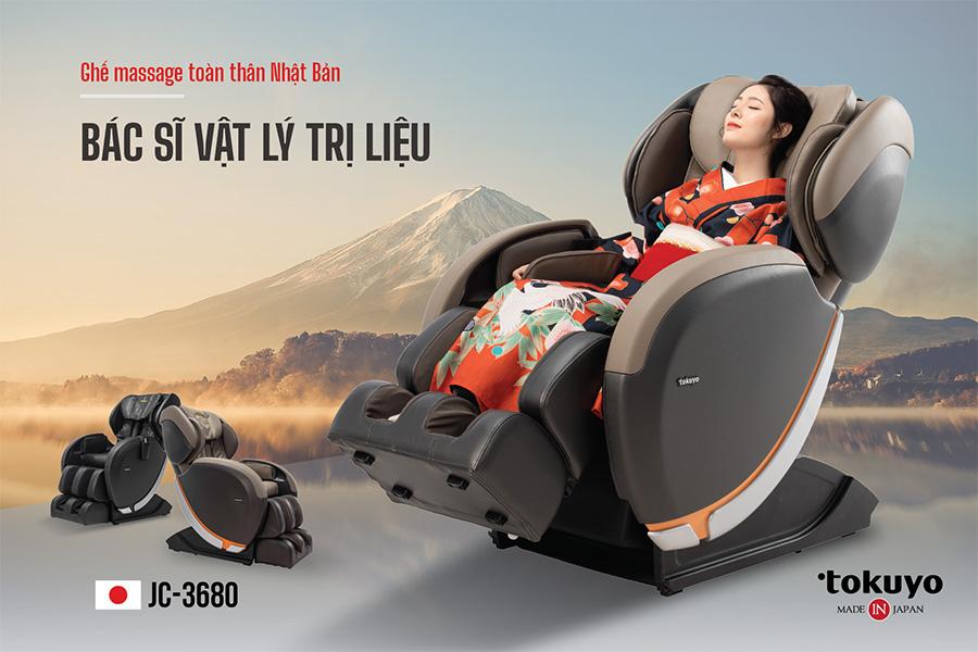 Ghế massage - giải pháp chăm sóc sức khỏe tiết kiệm thời gian và tài chính thời 4.0