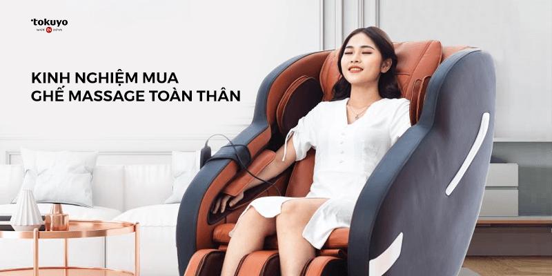 Phản hồi của khách hàng khi sử dụng ghế massage Tokuyo tại nhà