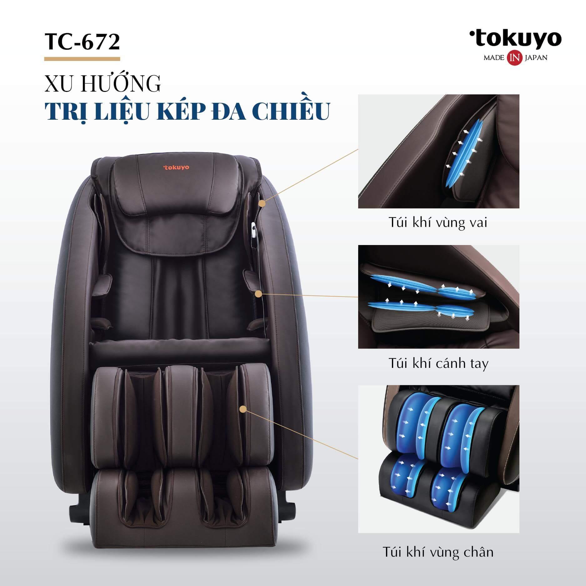 Đánh giá Ghế Massage toàn thân giá rẻ TC-672