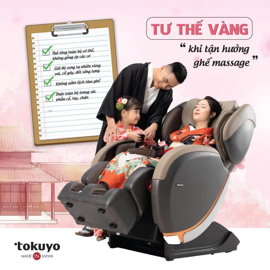 Bật mí cách massage đạt hiệu quả nhất trên ghế massage